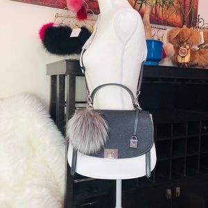 Michael Kors Bags - 3PCS Michael Kors Cassie TH Satchel Wallet Charms